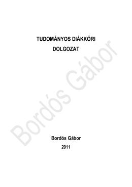 Bordós Gábor - Hulladékból Termék