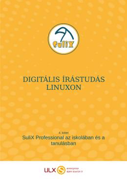 DIGITÁLIS ÍRÁSTUDÁS LINUXON