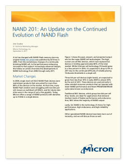 NAND 201: An Update on the Continued Evolution of