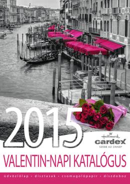 Valentin katalogus 2015