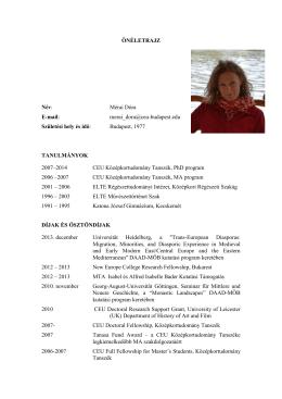 Mérai Dóra - Magyar Régész Szövetség