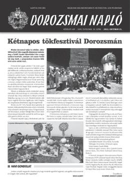 10 - Kiskundorozsma