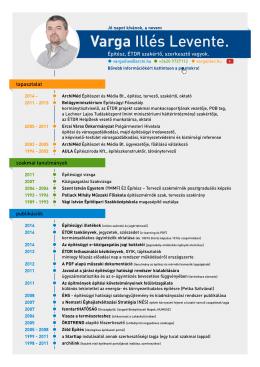 Önéletrajz PDF