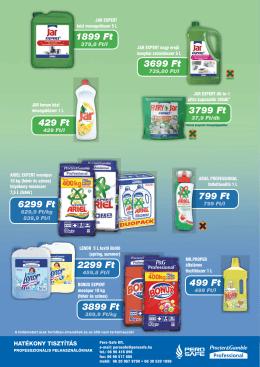 Procter&Gamble új termékek