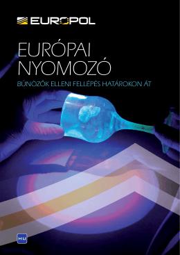 EURÓPAI NYOMOZÓ - Europol
