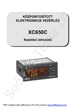 XC 650C - Soós és Társa