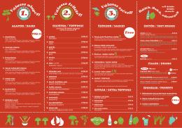 menu - Padthai Wokbar