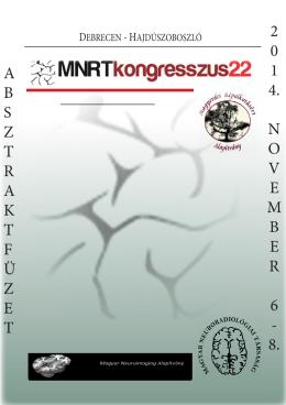 absztraktf ü zet 2 0 1 4. november 6 - 8.