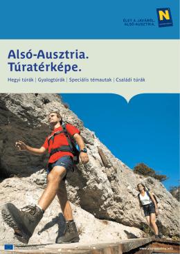Alsó-Ausztria Túratérképe