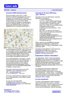 Letöltés - Geotrade Kft.
