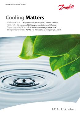 Új Cooling Matters 2-2010