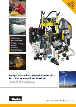 Európai Hidraulika Szűréstechnikai Divízió - Hidro