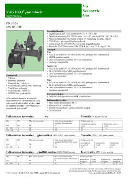 VAG EKO plus tolózár.pdf - Interex