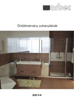 Öntöttmárvány zuhanytálcák