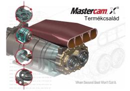 Mastercam, a világ vezető CNC