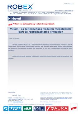 Hírlevél letöltése PDF formátumban
