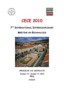 CECE 2010 program
