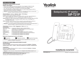 Yealink_SIP-T21P_hasznalati - N