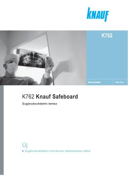 K762 Knauf Safeboard