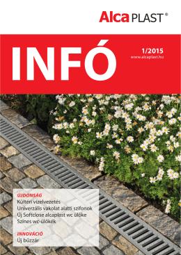 INFO 1/2015 - Alca plast, sro