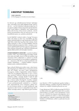 MultiPlex technológia - Dr. Derm Bőrgyógyászat és Esztétikai