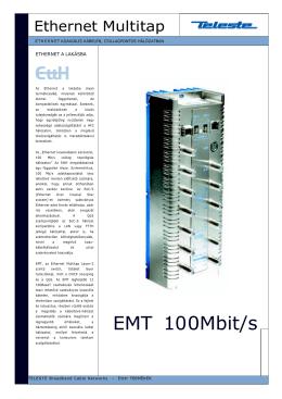 EMT 100Mbit/s - HFC Technics