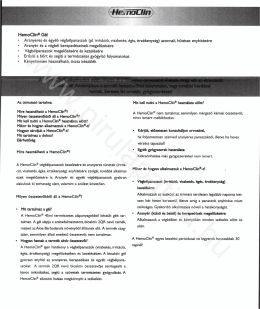 HemoClin® Gél - PirulaPatika