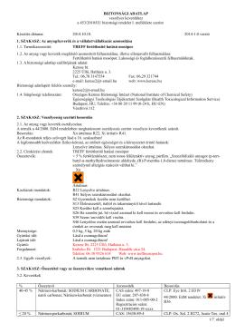 TREFF fertőtlenítő hatású mosópor, 2014.10.10