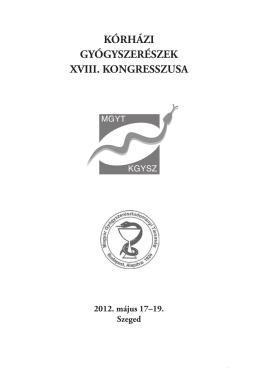 Letölthető a kongresszus részletes programja