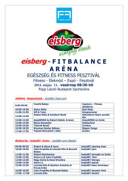 eisberg - Fitbalance
