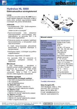 Hydrolux HL 5000