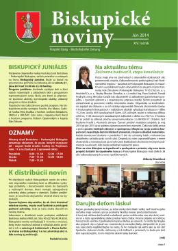 noviny (pdf) - Podunajské Biskupice