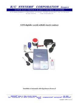 SA-GSM kezelési V3