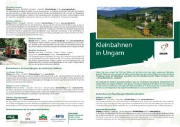 Kleinbahnen in Ungarn - Egererdő Erdészeti Zrt.