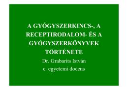 az előadás vázlata (pdf. 4,5 Mb)