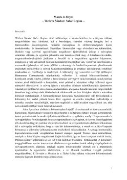 Maszk és fátyol - Modern Magyar Irodalomtörténeti Tanszék