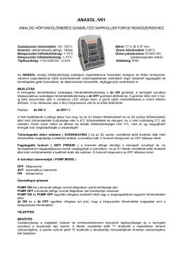 NAPLOLLEKTOR SZABáLYZó, ANALóG ANASOL V01.PDF