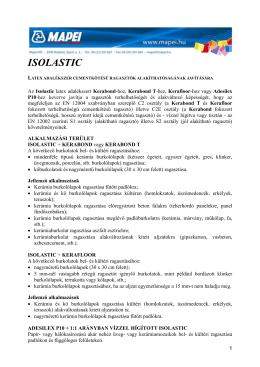 ISOLASTIC