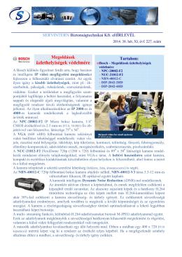 üzlethelyiségek védelmére - SERVINTERN | Biztonságtechnikai Kft.
