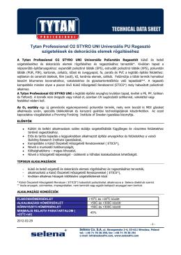 Tytan Professional O2 STYRO UNI Univerzális PU Ragasztó
