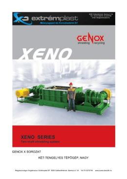 Xeno - Extrémplast Bt.