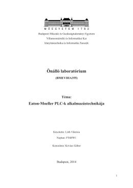 Eaton-Moeller PLC-k alkalmazástechnikái