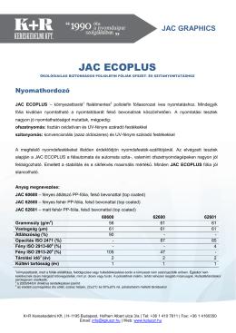 jac graphics - K+R Kereskedelmi Kft.