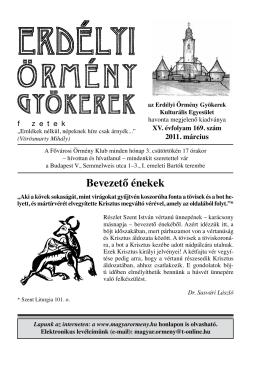 169 - Erdélyi Örmény Gyökerek Kulturális Egyesület