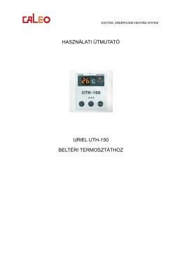 az Uriel UTH-150 termosztát használati útmutatóját.