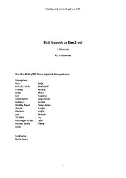 Itt - LinuxCNC támogatás magyarul