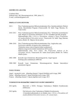itt - Grastyán Endre Szakkollégium