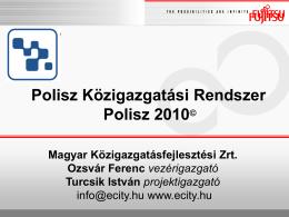 Polisz 2010 - Fujitsu info