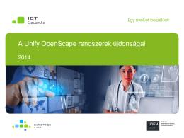 Unify OpenScape rendszerek újdonságai-Bárány