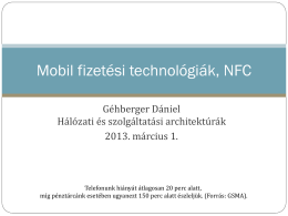 Mobil fizetési technológiák